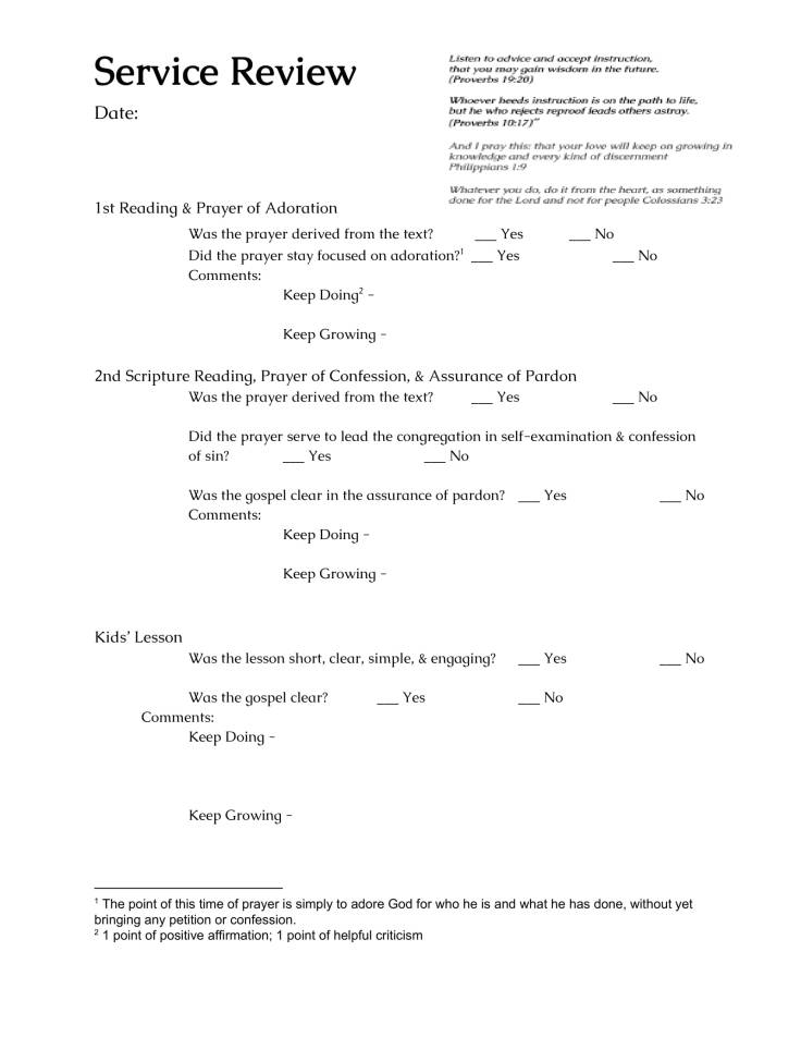 Service Review Form-1